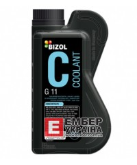 Антифриз BIZOL Coolant G11, concentrate -80°С, 1л