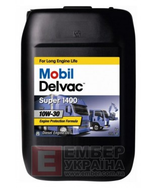 Mobil Delvac Super 1400 10W-30 20л моторное масло