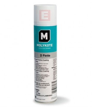 Тверда мастильна паста Molykote D Paste Spray