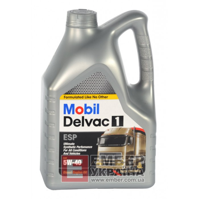 Моторное масло Mobil Delvac 1 5W-40
