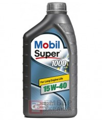 Моторне масло Mobil Super X1 1000 15W-40 1л