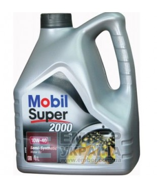 Моторне масло Mobil Super 2000 X1 10W-40 4л