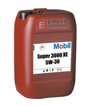 Моторное масло Mobil Super 3000 XE 5W-30 20л