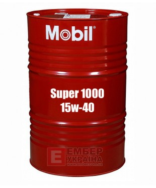 Моторне масло Mobil Super 1000 X1 15W-40 208л
