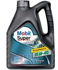 Моторне масло Mobil Super 1000 15W-40 4л