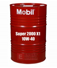 Моторне масло Mobil Super 2000 X1 10W-40, 208л
