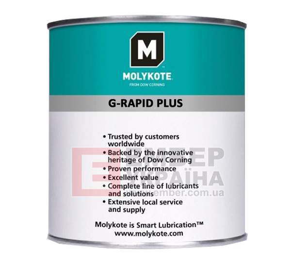 Паста Molykote G-Rapid plus и смазка Molykote 41 Grease